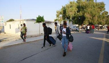 إجلاء أول مجموعة من اللاجئين الأشد ضعفاً من ليبيا إلى رواندا