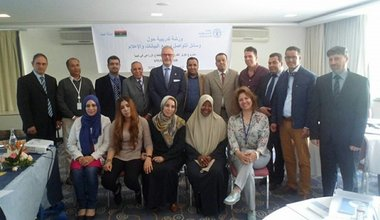 FAO Provides Training for Libyan Officials in Communication and reporting on SDGs