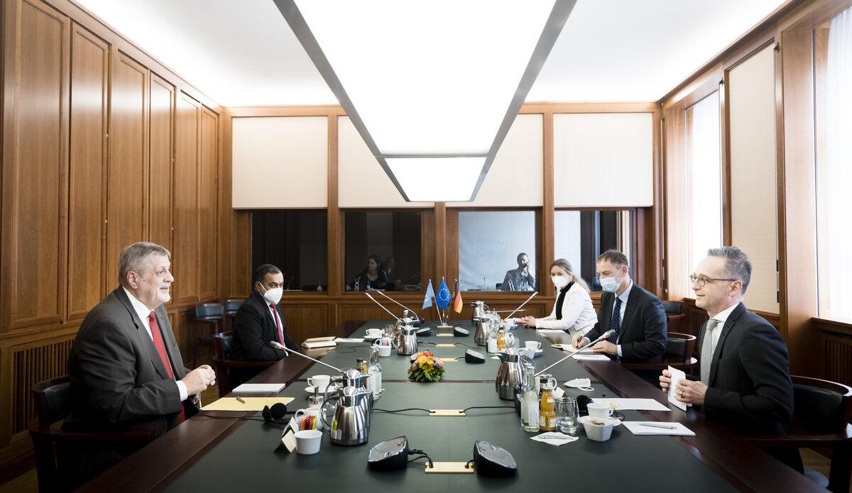 الصورة: الخارجية الألمانية
