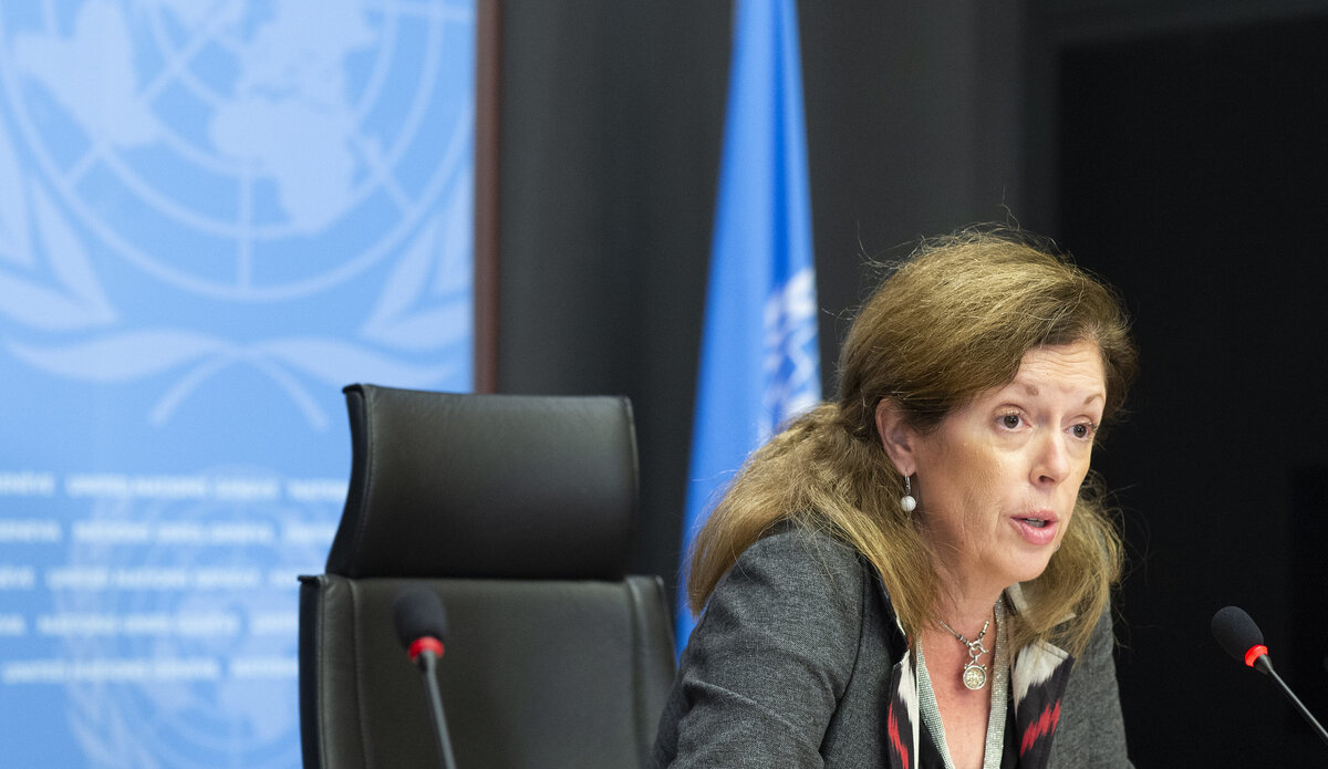 الممثلة الخاصة للأمين العام للأمم المتحدة في ليبيا بالإنابة، السيدة ستيفاني وليامز