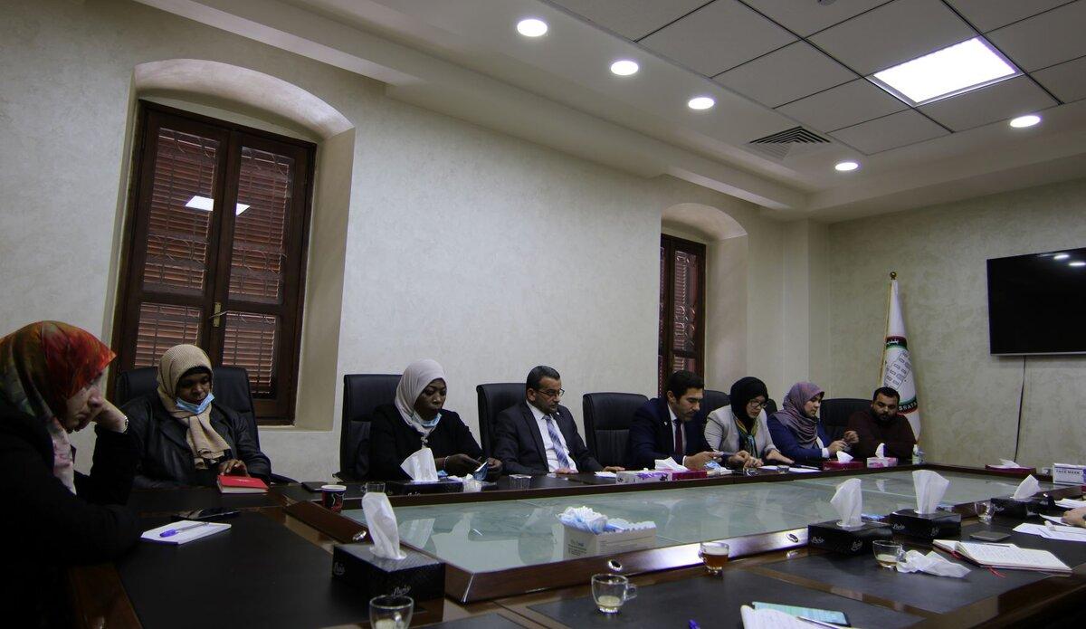 اللقاء مع ممثلي المجتمع المدني