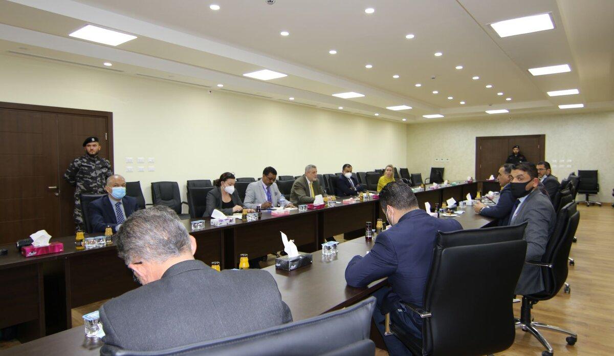 اجتماع المجلس البلدي في مصراتة