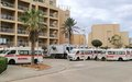 Ambulances transferred to Sirte aim to improve access to critical healthcare services