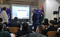 First human rights trainings held inside detention centres in Libya since 2014
