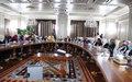اجتماع للنهوض بتمثيل المرأة في المناصب العليا في المؤسسات الوطنية الليبية