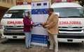 EU-funded project hands over two ambulances to Murzuq municipality
