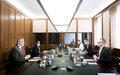 المبعوث الخاص للأمين العام للأمم المتحدة إلى ليبيا، يان كوبيش يلتقي بمسؤولين ألمان رفيعي المستوى في برلين، ويواصل اتصالاته مع عدد من وزراء الخارجية