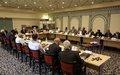 ممثلو الدولة والخبراء يناقشون أفضل السبل لمعالجة التظلمات الناجمة عن القوانين والممارسات السابقة الخاصة بالملكية في ليبيا