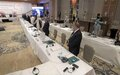 Scenes from the second day of the Libyan political Dialogue Forum talks
