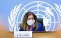 الكلمة الافتتاحية للسيدة ستيفاني  وليامز، الممثلة الخاصة للأمين العام للأمم المتحدة في ليبيا بالإنابة، خلال المؤتمر الصحفي -  قصر الأمم المتحدة، جنيف، 16 كانون الثاني/يناير 2021