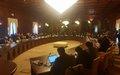 الاجتماع الثاني لفريق العمل المعني بالهجرة في ليبيا الذي عقد في طرابلس