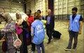 إجلاء اللاجئين من ليبيا خلال زيارة المفوض السامي للأمم المتحدة لشؤون اللاجئين بمناسبة اليوم العالمي للاجئين