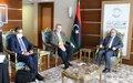 Special Envoy for Libya meets HCS President, Misrata municipal council, HoR/HCS members and Civil Society organisations