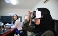 UNSMIL staff use virtual reality to capture Libyan experience