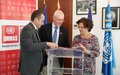 France donates EUR 430,000 to the United Nations to reduce the danger of explosive remnants of war in Misrata, Libya