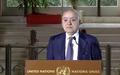 نص المؤتمر الصحفي الذي عقده غسان سلامة، الممثل الخاص للأمين العام للأمم المتحدة ورئيس بعثة الأمم المتحدة للدعم في ليبيا. جنيف- 4 شباط/ فبراير 2020