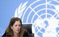الكلمة الختامية للممثلة الخاصة للأمين العام للأمم المتحدة في ليبيا بالإنابة، السيدة ستيفاني وليامز