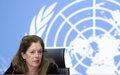 بيان صادر عن الممثلة الخاصة للأمين العام في ليبيا بالإنابة، ستيفاني وليامز، حول محادثات اللجنة العسكرية المشتركة الليبية 5 + 5 الجارية في جنيف