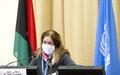 الكلمة الافتتاحية للممثلة الخاصة للأمين العام في ليبيا بالإنابة ستيفاني وليامز- اجتماع اللجنة الاستشارية المنبثقة عن ملتقى الحوار السياسي الليبي -  جنيف 13 يناير 2021