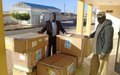 World Health Organization delivered a medical supply to South of Libya