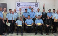 Graduation of Libyan police officers as child rights trainers