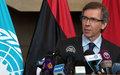 مقتطفات من كلمة الممثل الخاص للأمين العام في ليبيا برناردينو ليون لوسائل الإعلام 10 سبتمبر 2015