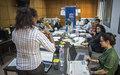 اليونسكو تقوم بتدريب صحفيين ليبيين حول المعايير الأساسية لإعداد التقارير والبرامج