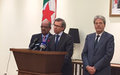 Leon Holds Consultations with General National Congress Representatives in Algerian Capital