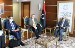 Meeting with Chairman of HCS and his deputies